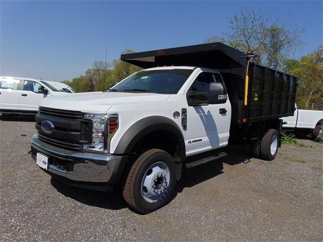 2018 F-450 Regular Cab DRW,  PJ's Truck Bodies & Equipment Landscape Dump #185981 - photo 4