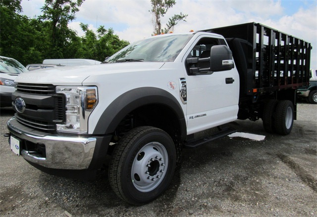 2018 F-550 Regular Cab DRW,  Stake Bed #186105 - photo 4