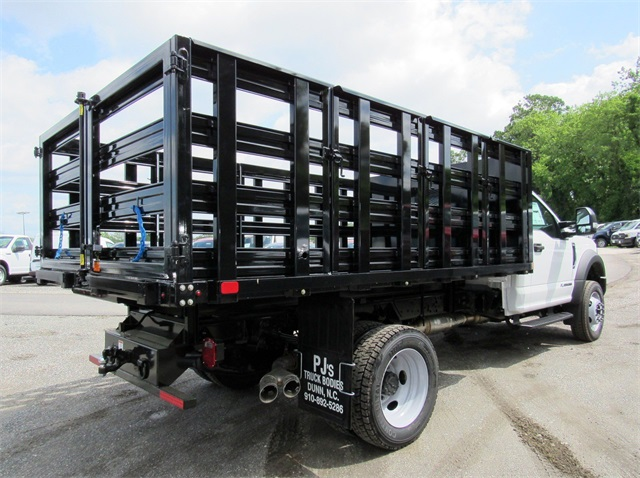 2018 F-550 Regular Cab DRW,  Stake Bed #186105 - photo 2