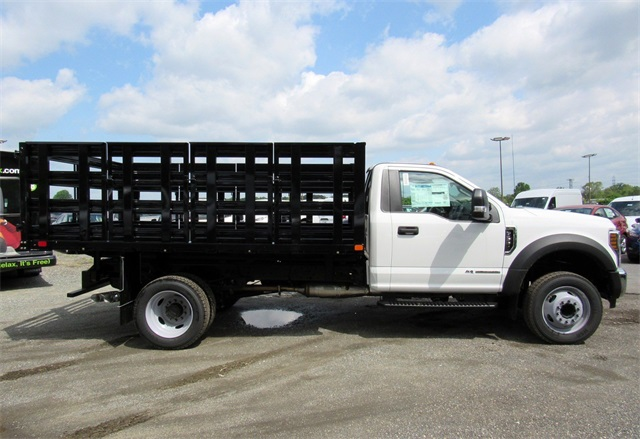 2018 F-550 Regular Cab DRW,  Stake Bed #186105 - photo 7