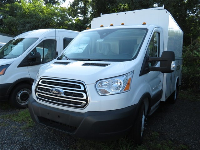 2018 Transit 350 HD DRW 4x2,  Reading Service Utility Van #186363 - photo 3
