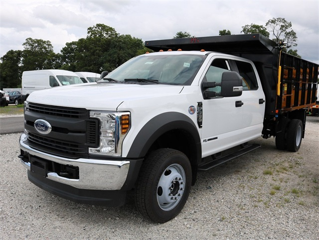 2018 F-550 Crew Cab DRW 4x4,  PJ's Truck Bodies & Equipment Platform Body #186512 - photo 4