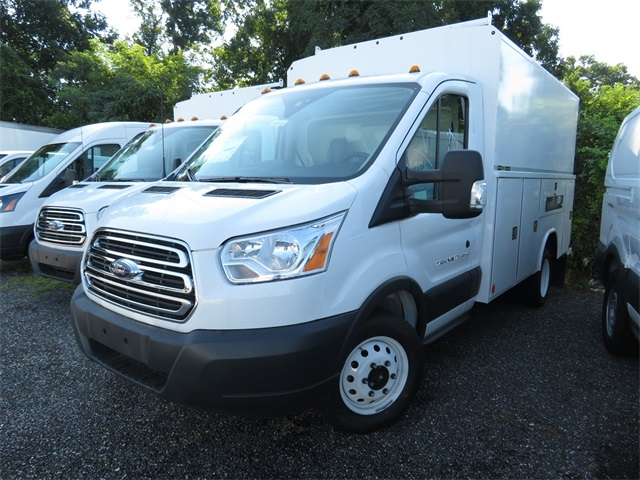 2018 Transit 350 HD DRW 4x2,  Reading Service Utility Van #186546 - photo 3