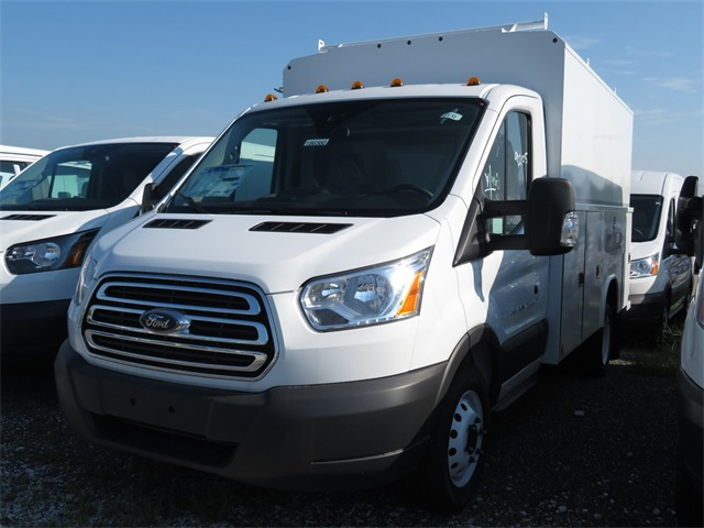 2018 Transit 350 HD DRW 4x2,  Reading Service Utility Van #186560 - photo 3