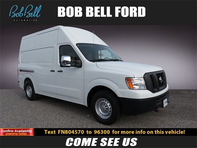 2015 Nissan NV3500 High Roof 4x2, Upfitted Cargo Van #196012A - photo 1