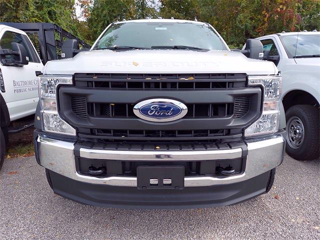 2020 Ford F-450 Crew Cab DRW 4x4, PJ's Stake Bed #206703 - photo 1