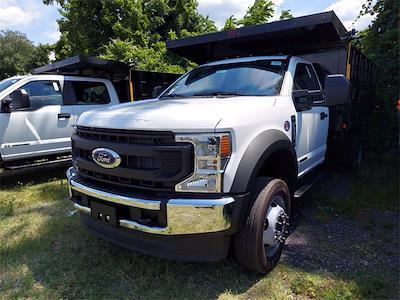 2021 F-550 Regular Cab DRW 4x4,  PJ's Truck Bodies Landscape Dump #215780 - photo 3