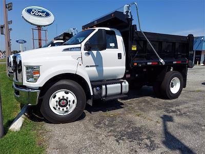 2022 F-750 Regular Cab DRW 4x2,  Godwin 300T Dump Body #215855 - photo 4