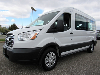 2017 Transit 350 Med Roof 4x2,  Passenger Wagon #P15881 - photo 4