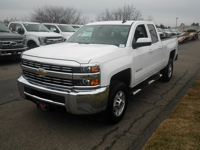 2015 Silverado 2500 Double Cab 4x4, Pickup #CF4870A - photo 4