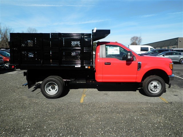 2017 F-350 Regular Cab DRW 4x4,  Reading Steel Stake Bed #CR2205 - photo 3