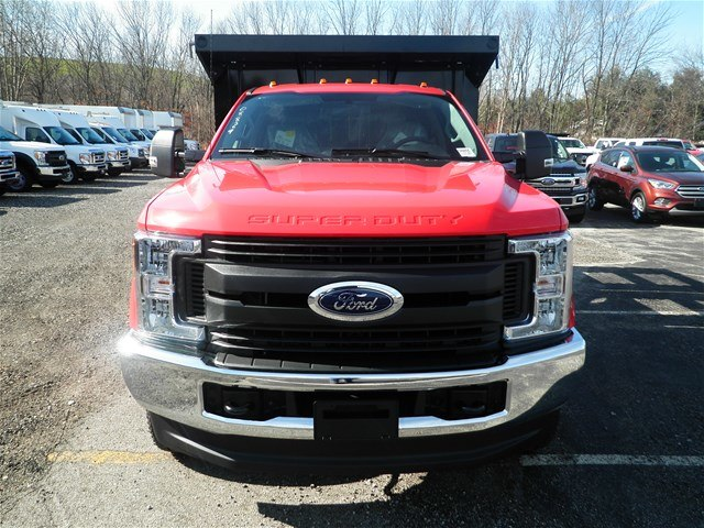 2017 F-350 Regular Cab DRW 4x4,  Reading Steel Stake Bed #CR2205 - photo 4