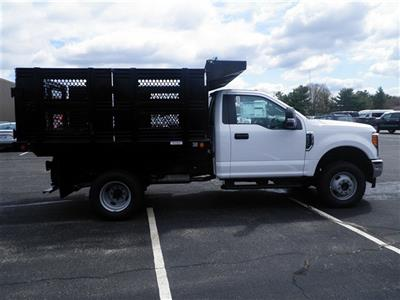 2017 F-350 Regular Cab DRW 4x4,  Reading Steel Stake Bed #CR2446 - photo 3