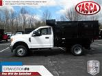 2017 F-350 Regular Cab DRW 4x4,  Reading Steel Stake Bed #CR2446 - photo 1