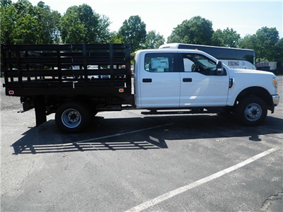 2017 F-350 Crew Cab DRW 4x4,  Knapheide Value-Master X Stake Bed #CR2872 - photo 3