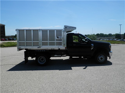 2018 F-350 Regular Cab DRW 4x4,  Duramag Aluminum Landscape Dump #CR3378 - photo 3