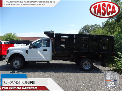 2018 F-350 Regular Cab DRW 4x4,  Reading Landscaper SL Landscape Dump #CR3684 - photo 1