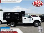 2018 F-350 Regular Cab DRW 4x4,  Reading Redi-Rack Stake Bed #CR3837 - photo 1