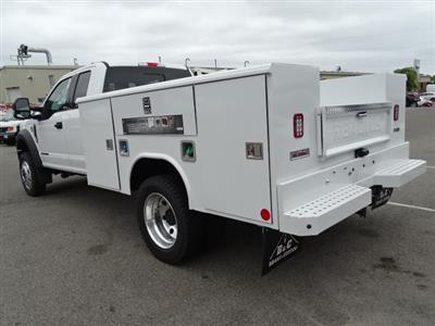 2018 F-450 Super Cab DRW 4x4,  Reading Classic II Aluminum  Service Body #CR4038 - photo 2