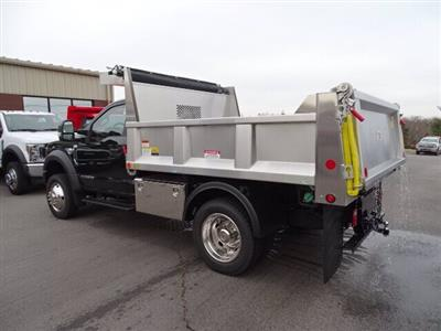 2019 Ford F-550 Regular Cab DRW 4x4, Iroquois Brave Series Stainless Steel Dump Body #CR4182 - photo 2