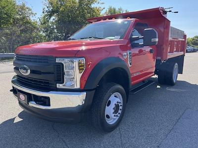 2019 F-550 Regular Cab DRW 4x4,  Crysteel E-Tipper Dump Body #CR4645 - photo 2