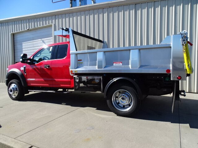 2019 F-550 Super Cab DRW 4x4, Iroquois Brave Series Stainless Steel Dump Body #CR4780 - photo 1