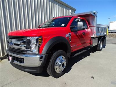 2019 F-550 Super Cab DRW 4x4,  Iroquois Brave Series Stainless Steel Dump Body #CR4780 - photo 3