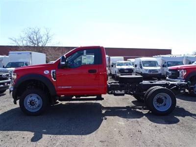 2019 Ford F-550 Regular Cab DRW 4x4, Cab Chassis #CR4785 - photo 1