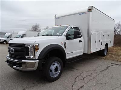 2019 F-550 Regular Cab DRW 4x2,  Dejana Truck & Utility Equipment DuraBox Max Service Utility Van #CR4855 - photo 3