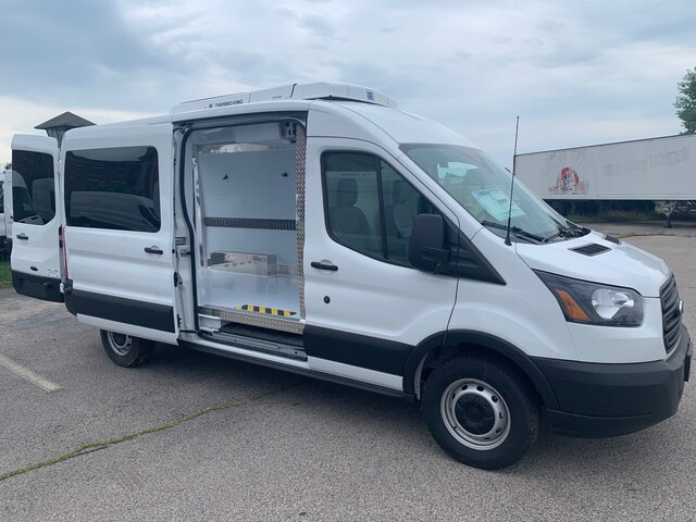 2019 Transit 250 Med Roof 4x2, Thermo King Direct-Drive Refrigerated Body #CR4962 - photo 9