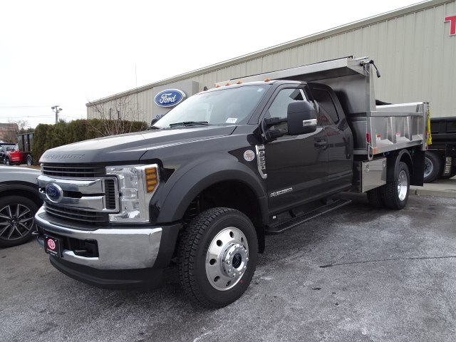 2019 F-550 Super Cab DRW 4x4, Iroquois Brave Series Stainless Steel Dump Body #CR4985 - photo 3