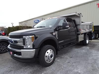 2019 Ford F-550 Super Cab DRW 4x4, Iroquois Brave Series Stainless Steel Dump Body #CGCR4985 - photo 3