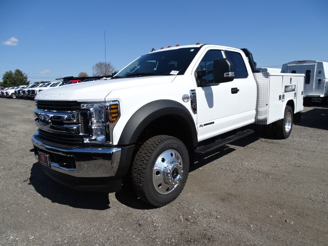 2019 F-550 Super Cab DRW 4x4,  Reading Classic II Steel Service Body #CR4988 - photo 3