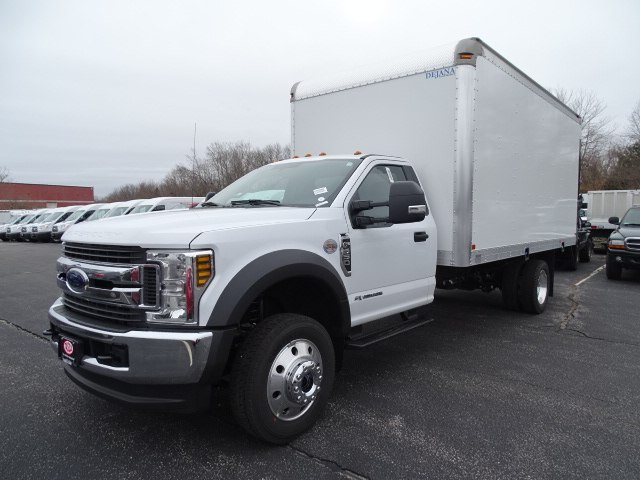 2019 F-550 Regular Cab DRW 4x4,  Dejana Truck & Utility Equipment Dry Freight #CR5068 - photo 3
