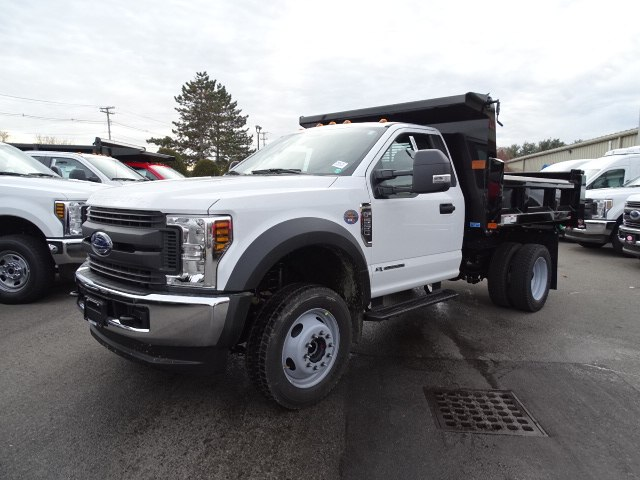 2019 F-550 Regular Cab DRW 4x4,  Rugby Dump Body #CR5072 - photo 3