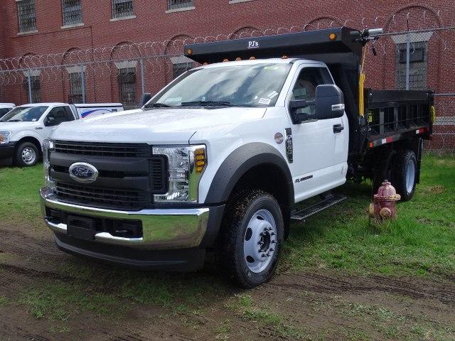 2019 F-550 Regular Cab DRW 4x4,  Rugby Eliminator LP Steel Dump Body #CR5235 - photo 3