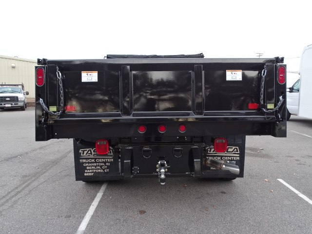 2019 F-550 Regular Cab DRW 4x4,  Rugby Eliminator LP Steel Dump Body #CR5284 - photo 4