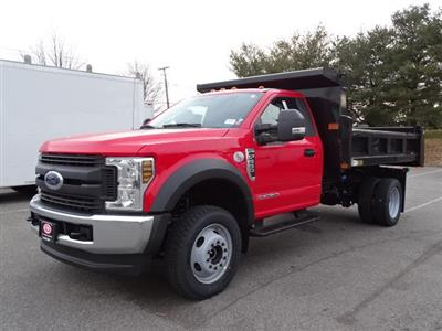 2019 F-550 Regular Cab DRW 4x4,  Rugby Eliminator LP Steel Dump Body #CR5284 - photo 3
