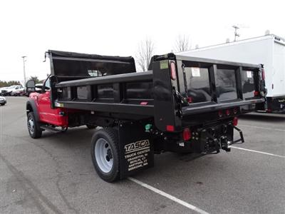 2019 F-550 Regular Cab DRW 4x4,  Rugby Eliminator LP Steel Dump Body #CR5284 - photo 2