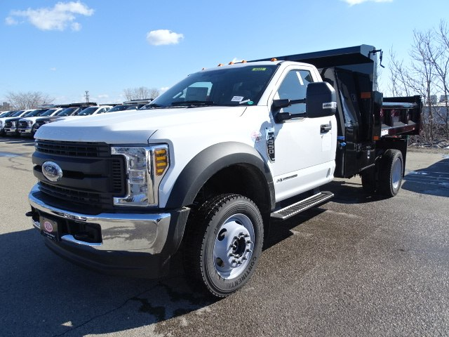 2019 F-550 Regular Cab DRW 4x4,  Rugby Eliminator LP Steel Dump Body #CR5288 - photo 3