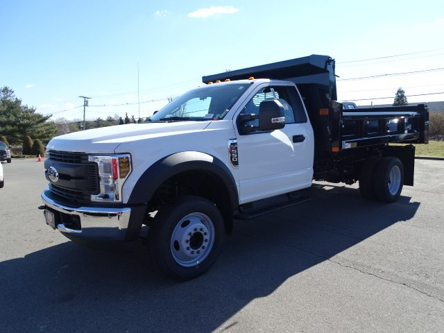 2019 F-550 Regular Cab DRW 4x2,  Rugby Eliminator LP Steel Dump Body #CR5323 - photo 3