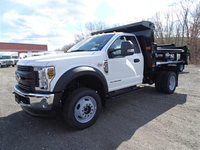 2019 F-550 Regular Cab DRW 4x4,  Rugby Eliminator LP Steel Dump Body #CR5346 - photo 3