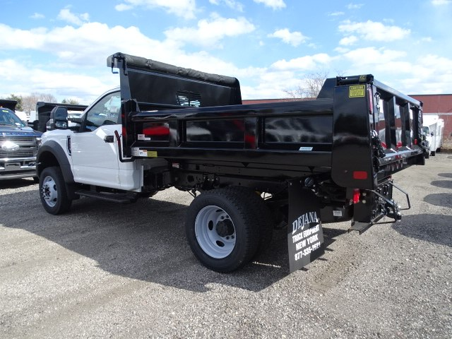 2019 F-550 Regular Cab DRW 4x4,  Rugby Dump Body #CR5347 - photo 1