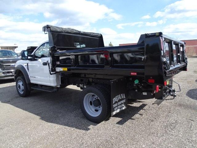 2019 F-550 Regular Cab DRW 4x4,  Rugby Dump Body #CR5391 - photo 1