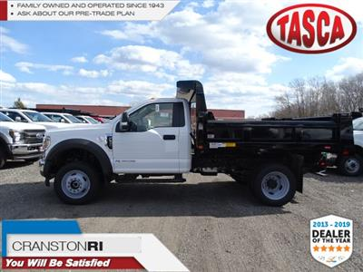 2019 F-550 Regular Cab DRW 4x4,  Rugby Eliminator LP Steel Dump Body #CR5391 - photo 1