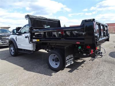 2019 F-550 Regular Cab DRW 4x4,  Rugby Eliminator LP Steel Dump Body #CR5391 - photo 2