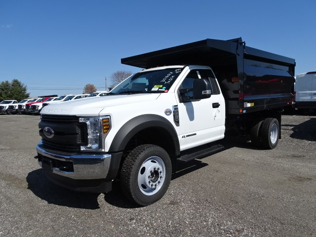 2019 F-550 Regular Cab DRW 4x4,  Rugby Landscape Dump #CR5422 - photo 3