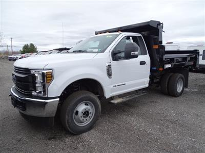 2019 F-350 Regular Cab DRW 4x4,  Rugby Eliminator LP Steel Dump Body #CR5523 - photo 3