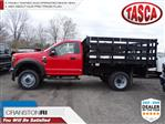 2019 F-550 Regular Cab DRW 4x4,  Knapheide Stake Bed #CR5534 - photo 1