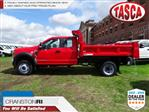 2019 F-450 Super Cab DRW 4x4,  Rugby Dump Body #CR5605 - photo 1